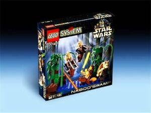 LEGO-Star-Wars-Naboo-Swamp-with-Qui-Gon-Jinn-Jar-Jar-Binks-amp-Battle-Droid-Mini