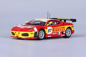 BBURAGO-1-43-FERRARI-2008-F430-GTC-DIECAST-MODEL-RACING-CAR-NEW-IN-BOX
