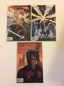 Lot-of-3-Sir-Apropos-Of-Nothing-1-2-3-IDW-Comics-2008-VF-NM