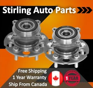 1997-1998-1999-2000-For-Ford-Taurus-Rear-Wheel-Bearing-and-Hub-Assembly-x2