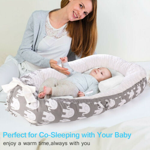 Portable Travel Newborn Baby Nest Lounger Bed Crib Sleeper I