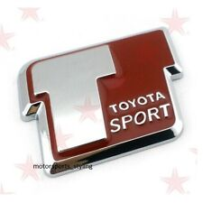T Sport Car Badge Logo Sticker Toyota Yaris VVTi Celica MR2 Corolla Rear Boot 35