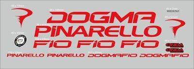 PINARELLO DOGMA THINK2 SKY CUSTOM MADE FRAME DECAL SET