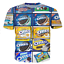 New Fashion Women//Men/'s 3D Print Milks Favorite OREO Cookie T-Shirt