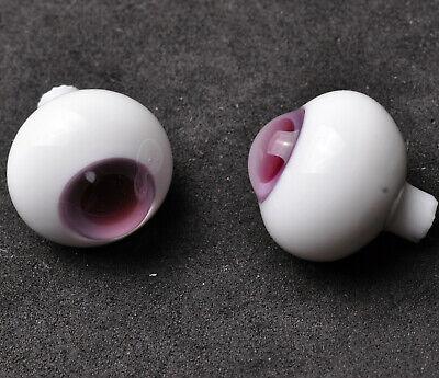 Nice 10mm Purple Iris with Lines Glass BJD Eyes for  1//6 BJD Dollfie