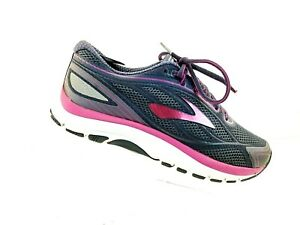 dc803ad71e813 Image is loading Brooks-Dyad-9-Womens-Running-Shoes-Dark-Gray-