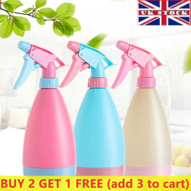 500ml Cleaning Garden & Plant Spray Bottle Plastic Watering Sprayer Hair Tools##