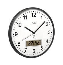 Wanduhr Funkuhr Uhr mit Funkwerk Thermometer gut lesbar 30 cm Hygrometer