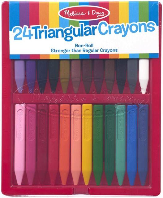 Melissa and Doug Triangular Crayons 24 pack | eBay