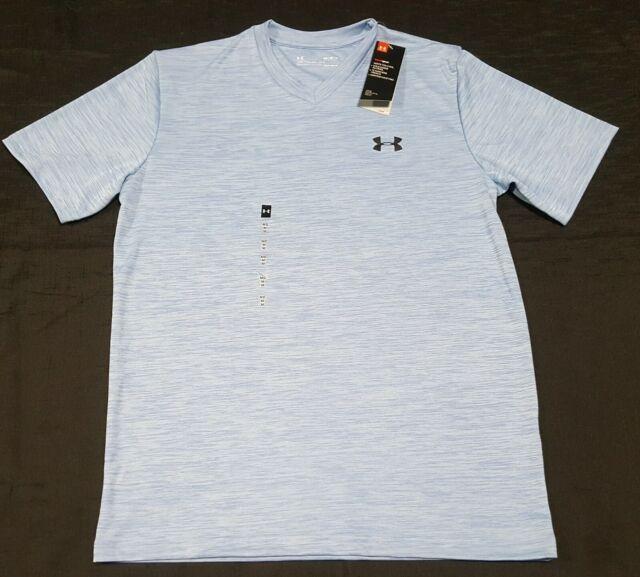 Under Armour MEN/'S Athletic Shirt Loose Heat Gear Anti Odor Grey Size S