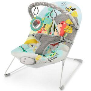 Kinderkraft-Baby-Bouncer-MILYFUN-Infant-Rocker-Electric-Swinger-Vibration