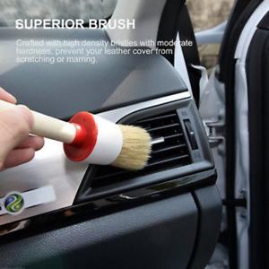 5 X Soft Bristle Brush Car Truck Dash Board Center Console Cleaning Tool