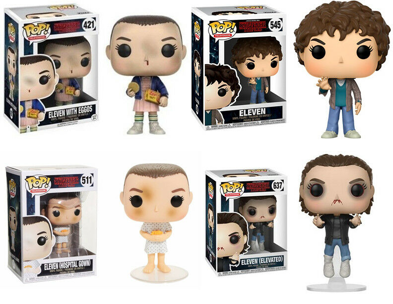 Funko Pop TV  Stranger Things - Eleven and Various Vinyl Figures bundle