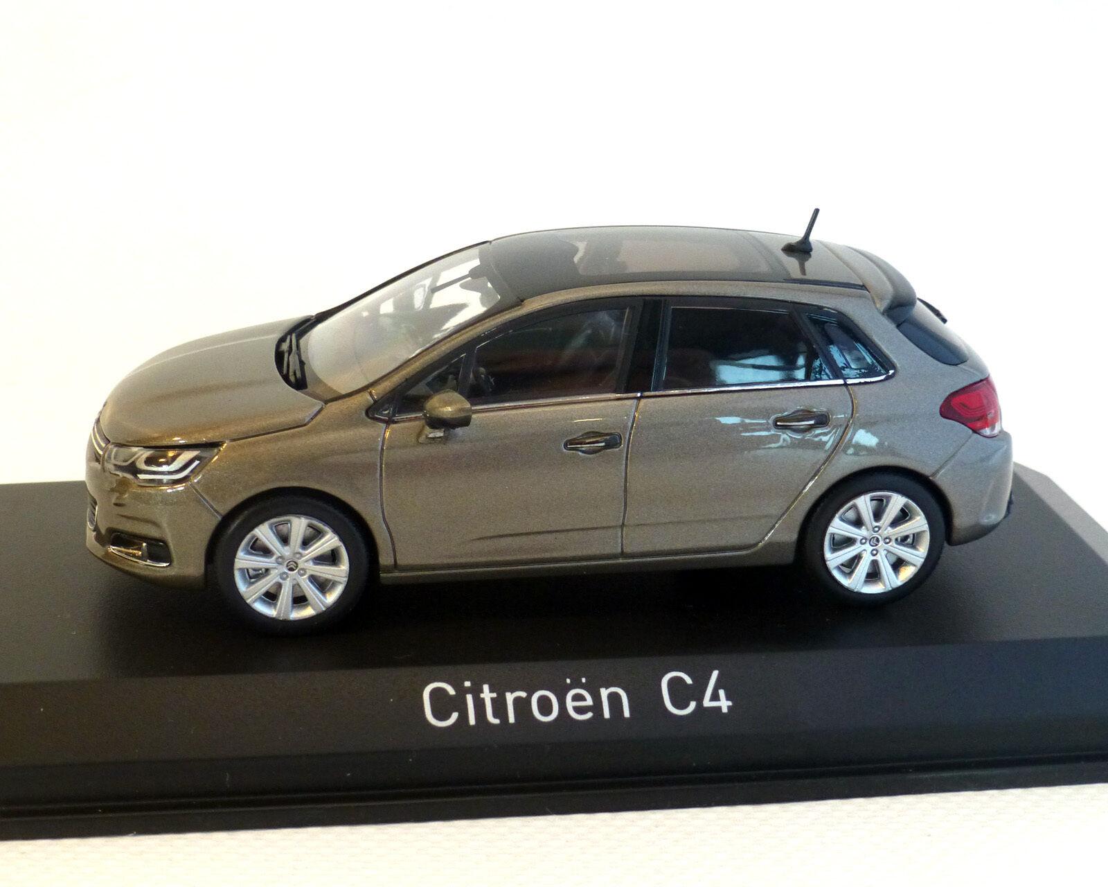 Citroen C4, grey-Beige-Metallic, 2015, Norev 1 43