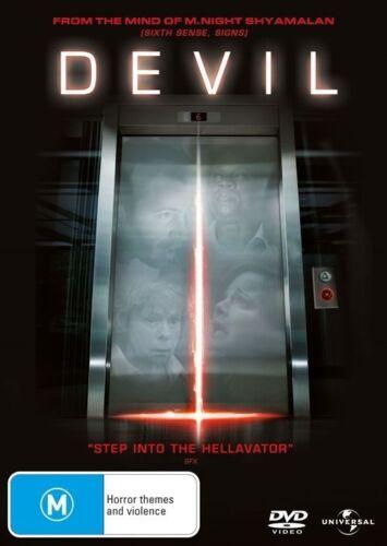 1 of 1 - Devil - DVD movie - Like New - R4 - fast free post
