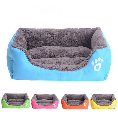 Pet Dog Cat Bed Puppy Cushion House Pet Soft Warm Kennel Dog Mat Blanket 5 Color