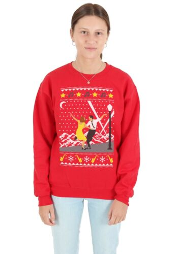 La La Land Christmas Sweater Top Jumper Sweatshirt Xmas Ugly Lala Movie Film