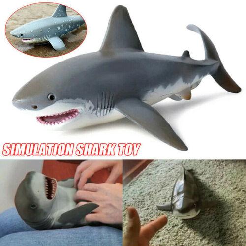 Lifelike Shark Shaped Toy Realistic Motio Simulation Animal Model for Kids