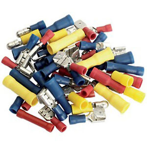110 x assorted wiring terminals crimp auto car cable connectors image is loading 110 x assorted wiring terminals crimp auto car publicscrutiny Images