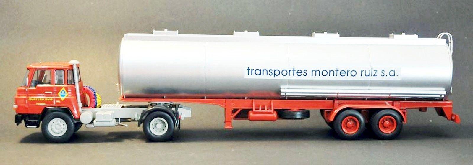 N° 39 BARREIROS 42 38 T T T PANALON  MONTERO RUIZ Camion Semi Remorque 1 43 Neuf 837320