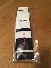 Lacoste Socken Socks weiß schwarz 41-46 gay'le Scally Tube Proll RAR NEU