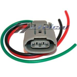 alternator plug harness 3 wire pin fits 350z 370z altima maxima image is loading alternator plug harness 3 wire pin fits 350z