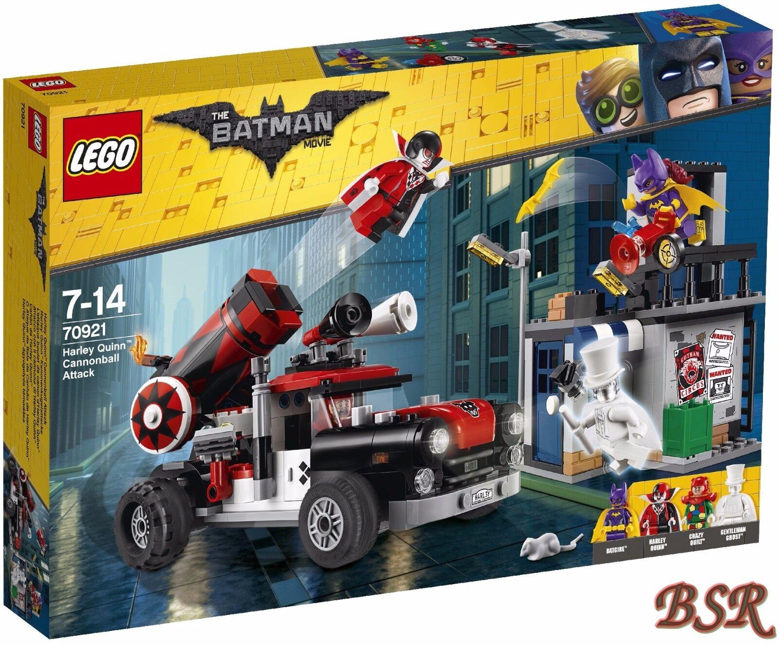 LEGO ® 70921 Harley Quinn ™ palla di cannone attacco & 0.  Spedizione & NUOVO & OVP