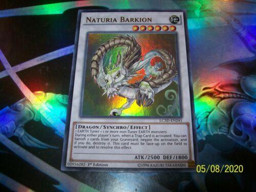 Naturia Barkion 1st Edition Ultra Rare LC5D-EN245 Yu-Gi-Oh!