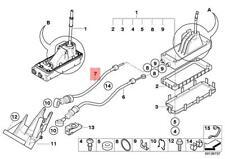 2002 2003 Saturn Vue Manual Transmission Mg3 Shift Cable Set Genuine For Sale Online Ebay