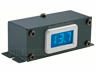 AUDIOBAHN ADM100T INTAKE SERIES AMPLIFIER AMP DIGITAL REMOTE MOUNT VOLT METER