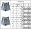 Women-Summer-Pants-High-Waist-Shorts-Denim-Jeans-Belt-Beach-Short-Pants-Trousers thumbnail 5