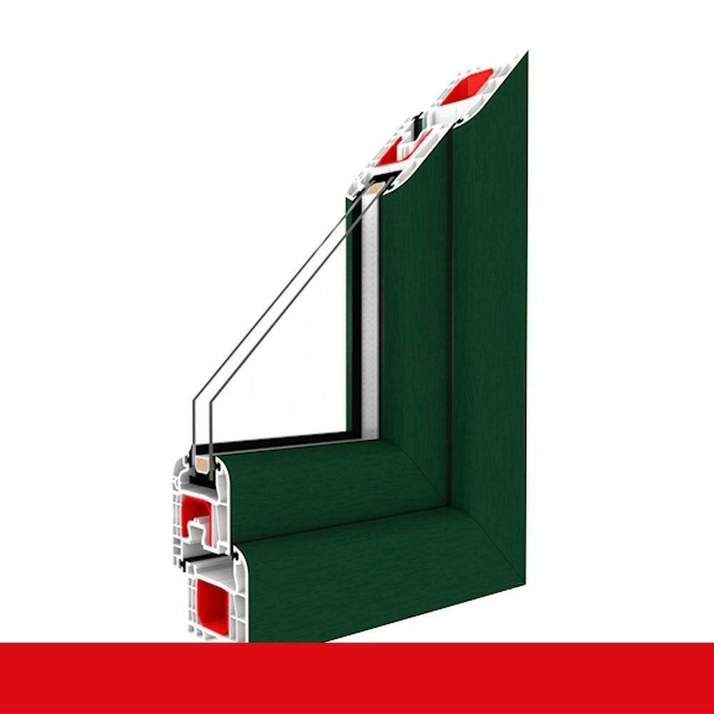Balkontür Moosgrün 1-flügelige Kunststoffbalkontür Terrassentür Dreh-Kipp