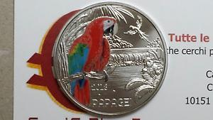 3 euro 2018 Austria Autriche Österreich pappagallo Papagei perroquet parrot loro ZasBH6Mo-07134239-283355108