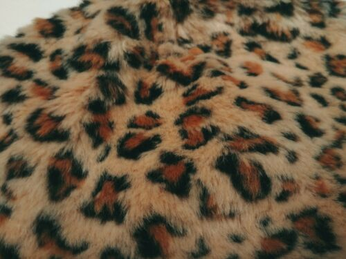 Gymboree Girls Furry Cheetah Print Beanie Thick Lining Size Medium