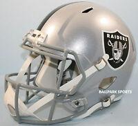 Oakland Raiders - Riddell Full Size Speed Replica Helmet
