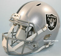 Oakland Raiders - Riddell Full Size Speed Replica Helmet