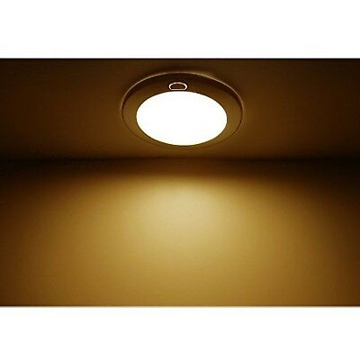 Dream Lighting 12volt Led Opal Panel Light With Switch 5 Warm White New Ebay