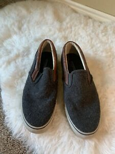 SPERRY-MEN-039-S-SIZE-10M-SLIP-ON-TOP-SIDER-LOAFERS-LEATHER-BOAT-SHOE
