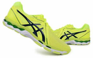 ASICS GEL-NETBURNER BALLISTIC Homme Volley-ball Chaussures de badminton Jaune B507Y-0758