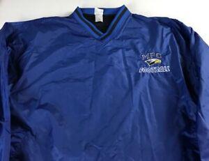 MPC Eagles Football Windbreaker Jacket Mens Medium Georgia School Mount Paran