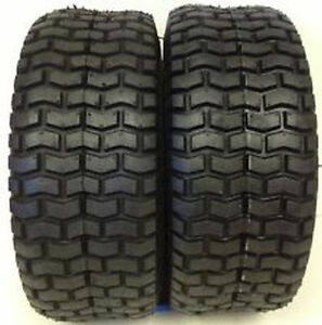 New-Set-of-2-Deestone-Turf-Tire-13-6-50X6-4-Ply