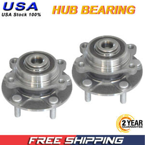 Rear Wheel Bearing fits 2004 Nissan 350Z for Left /& Right Side Set of 2