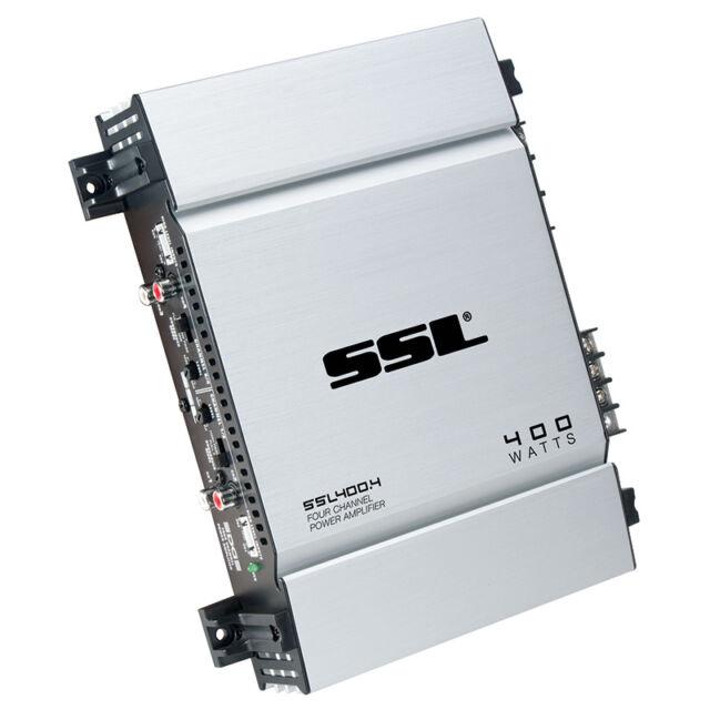 SOUNDSTORM SSL400 4 400 WATT 4 CHANNEL CLASS A/B CAR STEREO MOSFET  AMPLIFIER AMP
