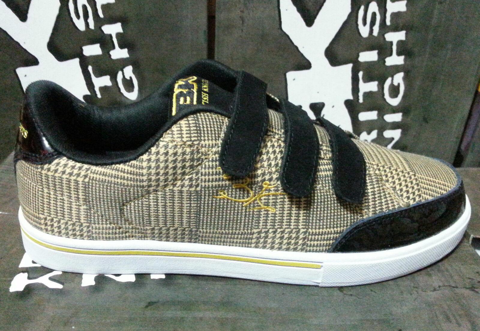 BK British Knights Schuhe Turnschuhe Tyrax Gelb Gelb Lack