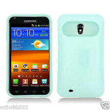 Sprint Samsung Galaxy S2 4G D710 Hybrid Case Skin Pastel Cover Light Green