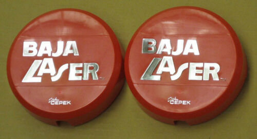 """Red Dick Cepek Baja KC Style 6/"""" Off Road Light Covers 4x4 Hard Cover"""
