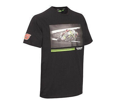 T-Shirt Jonathan Rea JR BACK 2 BACK #1 SBK WORLD Kawasaki  Neu S-3XL 177KRM032