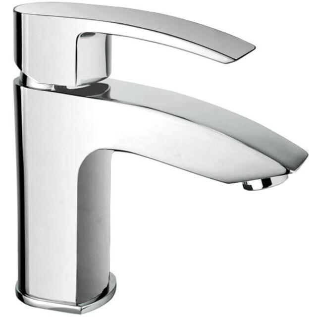Eckig Waschtisch Armatur für Waschbecken Wasserhahn Waschtischbatterie Einhebel