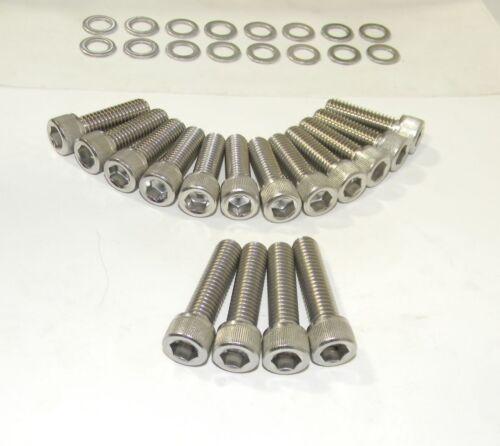 Chevy BB 454 502 Stainless Steel Allen Intake Manifold Bolt Kit NEW