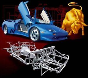 Lamborghini Diablo Kit Car Chassis Plans On Cd Naerc Ebay